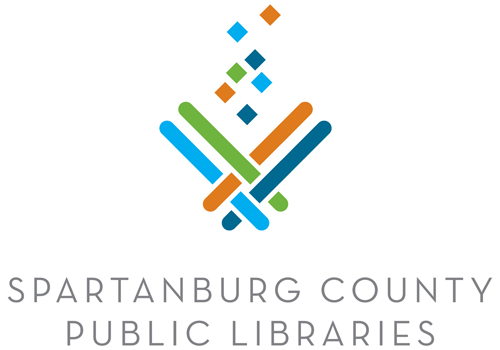 Spartanburg County Public Libraries Vertical Logo