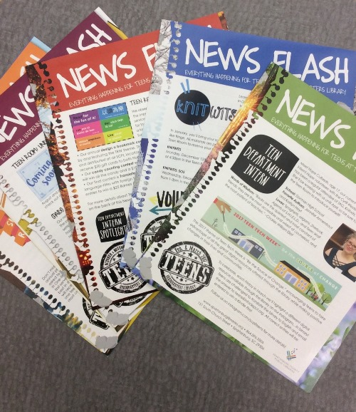Teen News Flash newsletters