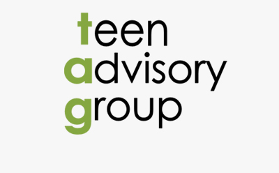 TAG - Teen Advisory Group logo
