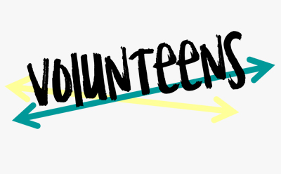 Teens Volunteens Logo
