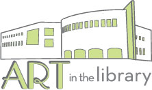 Art in the Library Logo